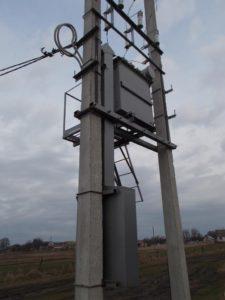 Комплектная трансформаторная подстанция столбового типа КТПс купить