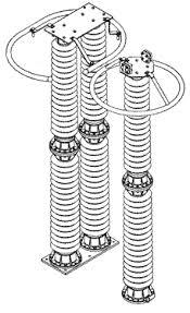 шинная опора 110 кв - схема