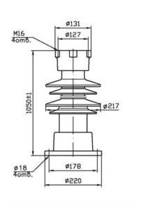 Изолятор С4-450-II-М УХЛ1 купить